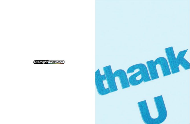 Thankyou_10 Greeting Card (4x55)